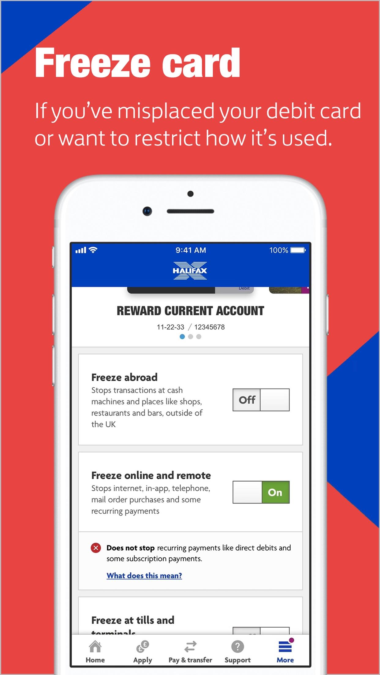 Halifax Mobile Banking Screenshot