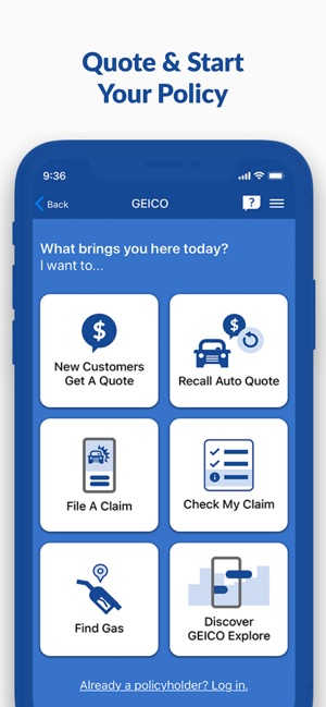 Geico Mobile Car Insurance On The App Store