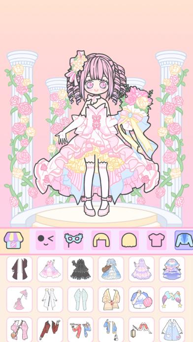 Vlinder Girl-女の子 着せ替えファッションゲームのおすすめ画像3