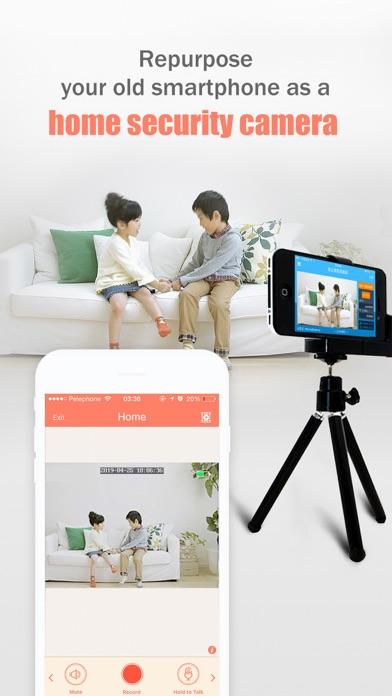 AtHome Camera Pro Security Appのスクリーンショット1