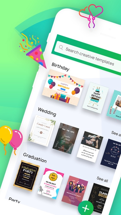 Invitation Maker- Make Invites screenshot-0