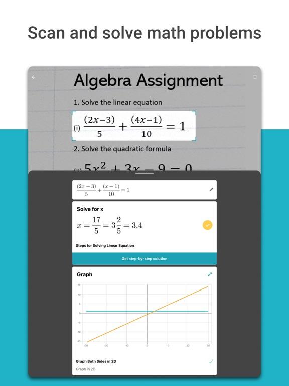 Microsoft Math Solver - HW app screenshot 5