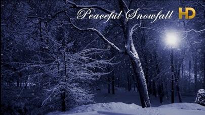 Peaceful Snowfall HDのおすすめ画像1