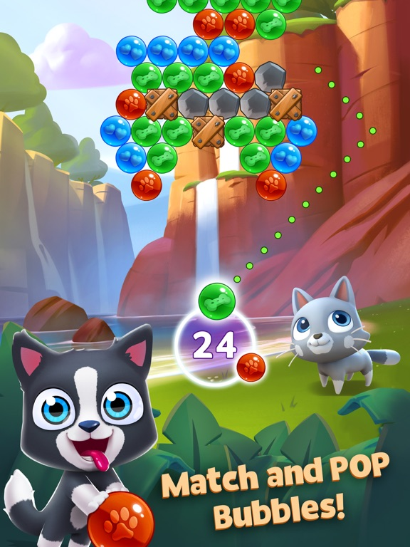 Pet Paradise: Bubble Pop Match screenshot 6