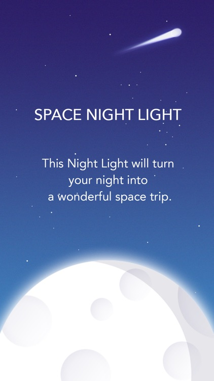 Space Night Light