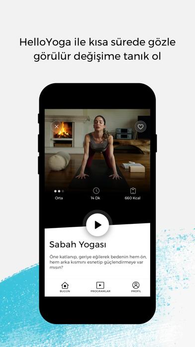 HelloYoga - Egzersiz & Fitness screenshot 5