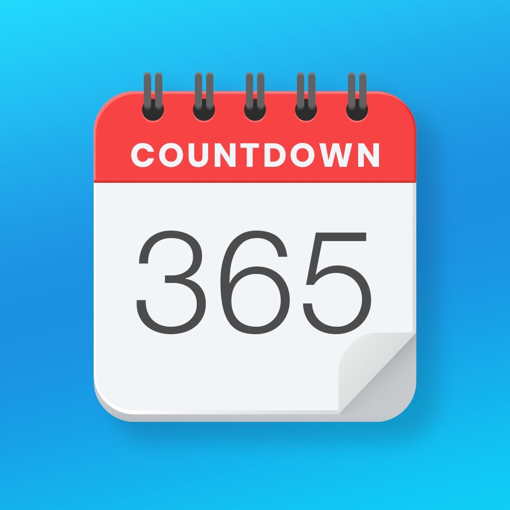 Countdown Timer - How Many Days Until or Days Since Calculator, Event Organizer, and Day counter
