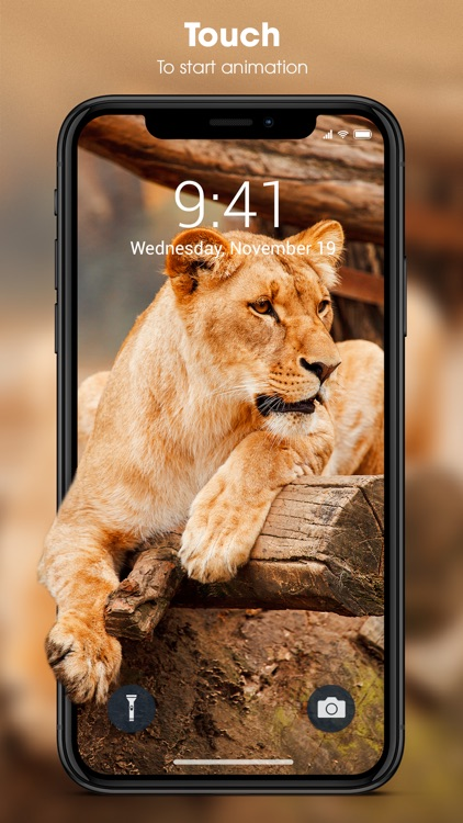 Live Wallpapers for iPhone. screenshot-0