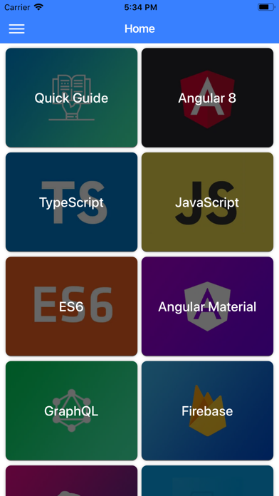 Development Guide for Angular screenshot 1