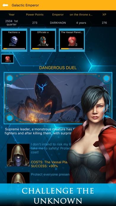Galactic Emperor: Strategy RPG screenshot 2
