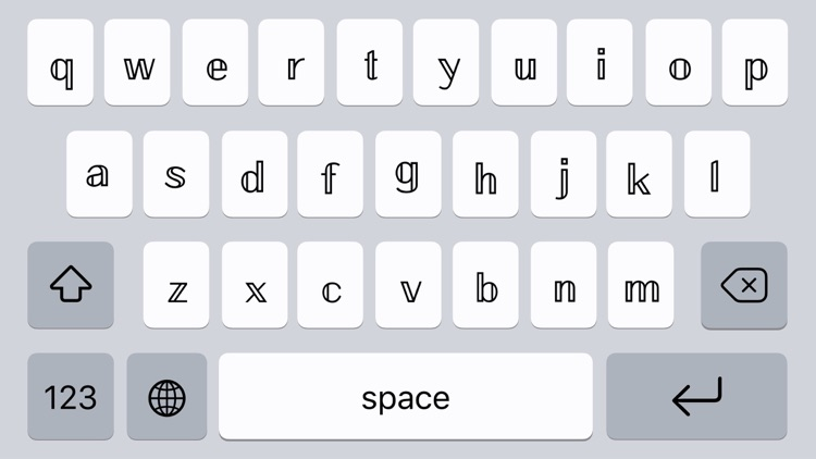 Fontbot: Custom fonts keyboard screenshot-4