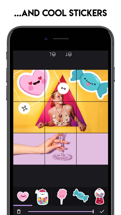 Grids - Giant Square Maker screenshot-5