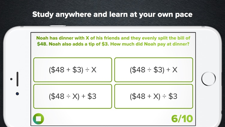 6th Grade Math Practice