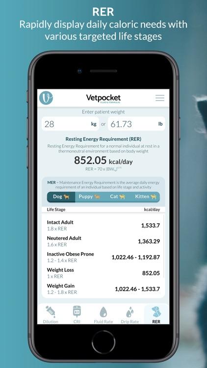 Vet Calculators by Vetpocket screenshot-4