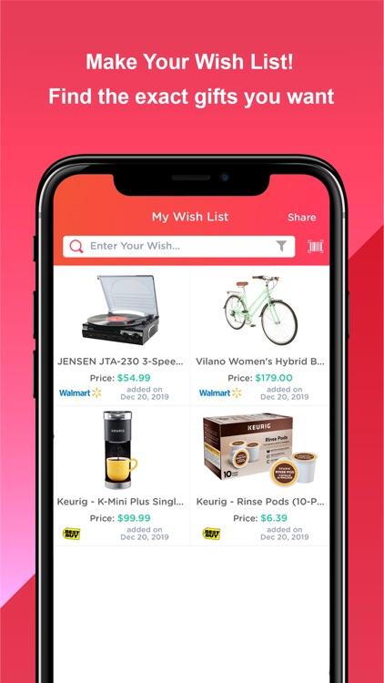 Wishworks: Build Wish Lists