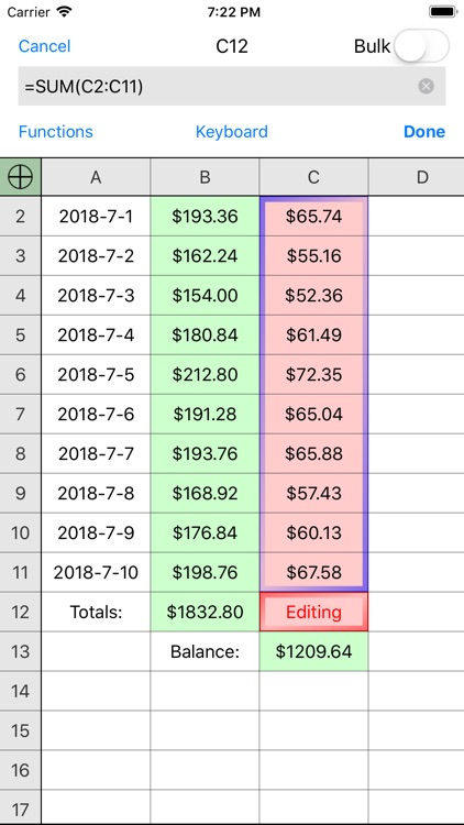 Utility Spreadsheet Pro