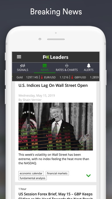 Forex Signals Live - FXLeaders Screenshot