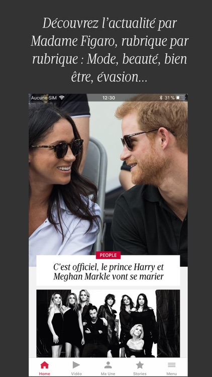 Madame Figaro, le news féminin screenshot-0
