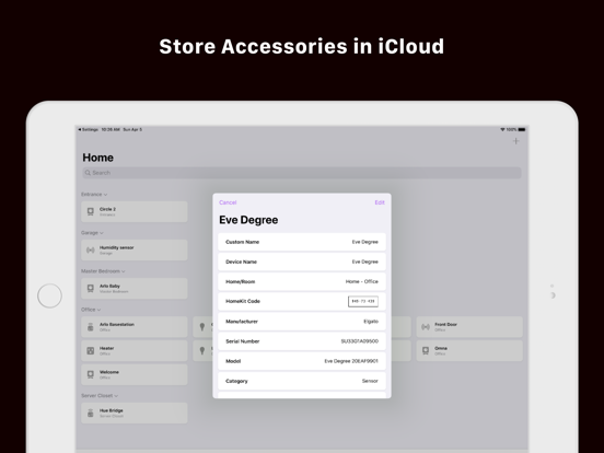 Screenshot #6 pour HomePass for HomeKit