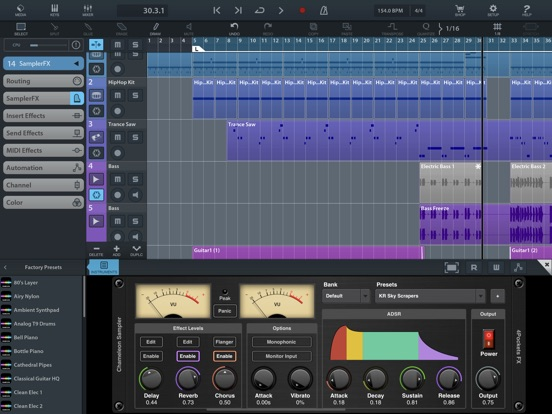 Chameleon AUv3 Sampler Plugin screenshot 12