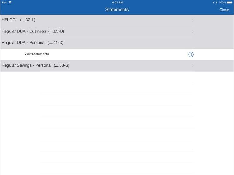 Decatur County Bank Biz iPad screenshot-3