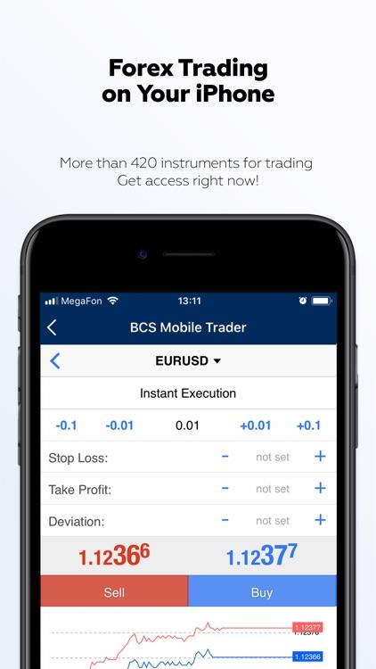 BCS Forex: online trading