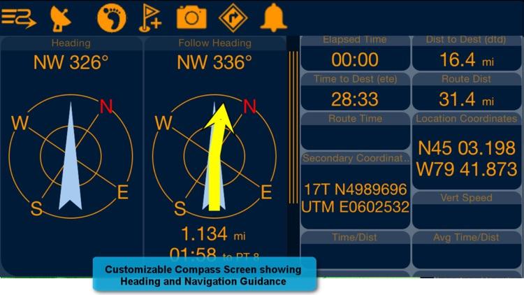 PathAway Express - Outdoor GPS screenshot-4
