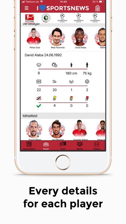 Sports News - FC Bayern ed. screenshot-6