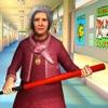 学校 害怕 老师 奶奶