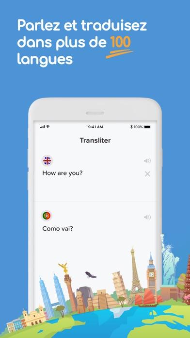 Traduction Live - Transliter