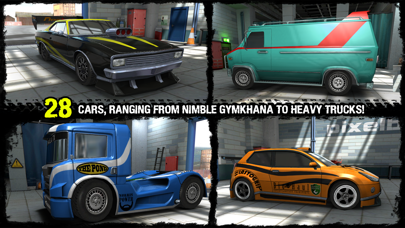 Screenshot from Reckless Racing 3