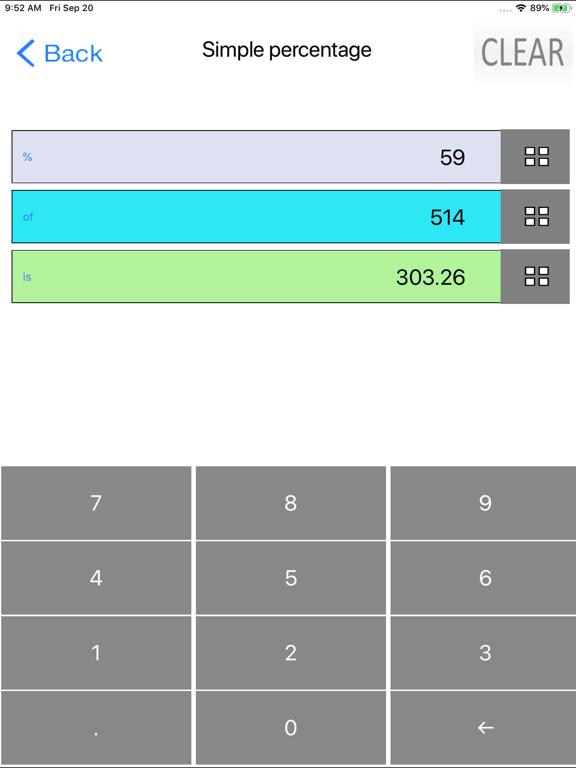 Percent, Percentage Calculator screenshot 10