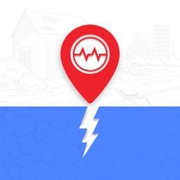 Earthquake Tracker on Map
