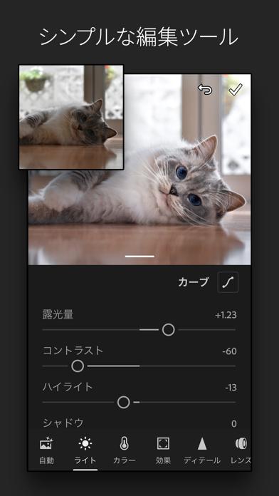 Adobe Lightroom - 写真加工・編集アプリのおすすめ画像8