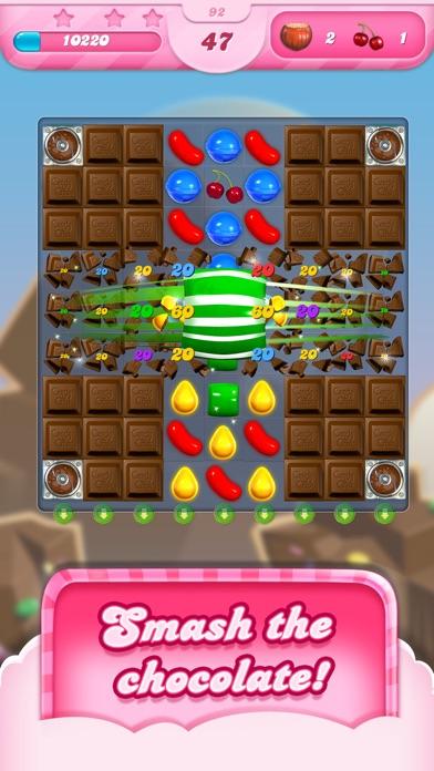 Screenshot of Candy Crush Saga App