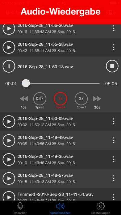 Voice Recorder Lite: Record HDScreenshot von 2