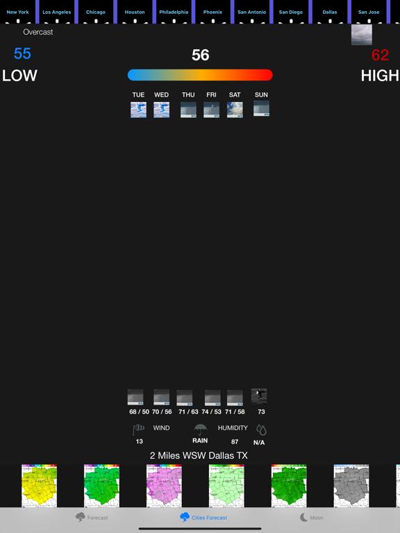 Instant NOAA Weather Forecast screenshot 9