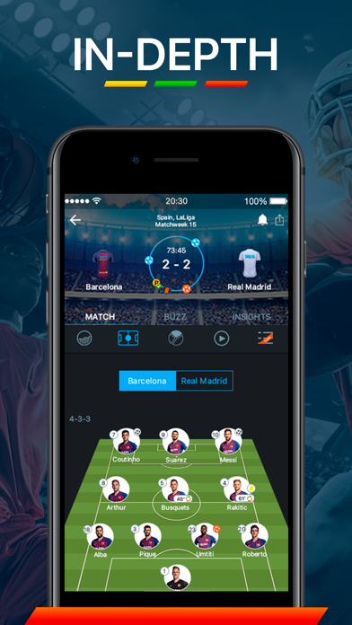 Screenshot for 365Scores - Live Scores in Canada App Store