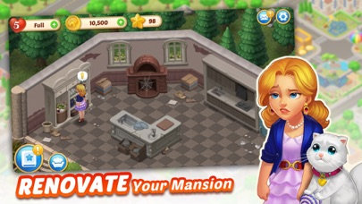Screenshot for Matchington Mansion in United States App Store
