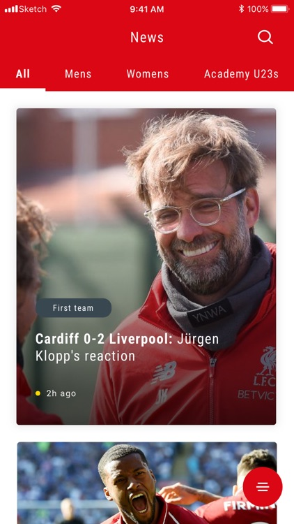 The Official Liverpool FC App screenshot-3