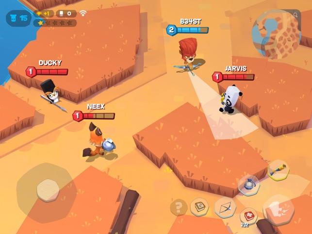 Zooba: Hayvan Savaş Oyunları App Store'da