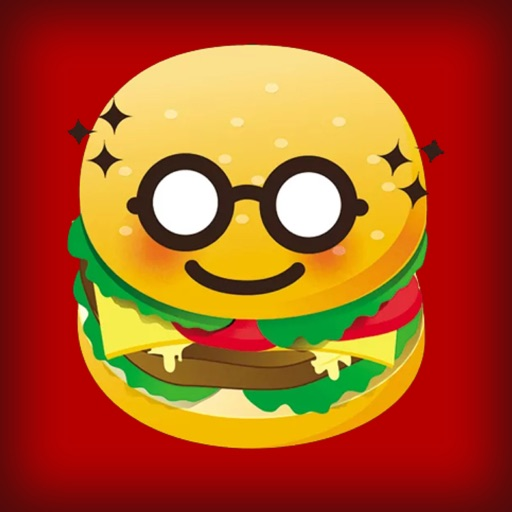 Burger Emoji Sticker icon