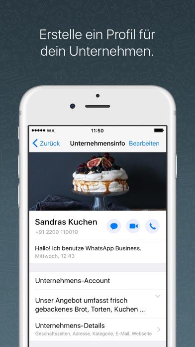 WhatsApp BusinessScreenshot von 1