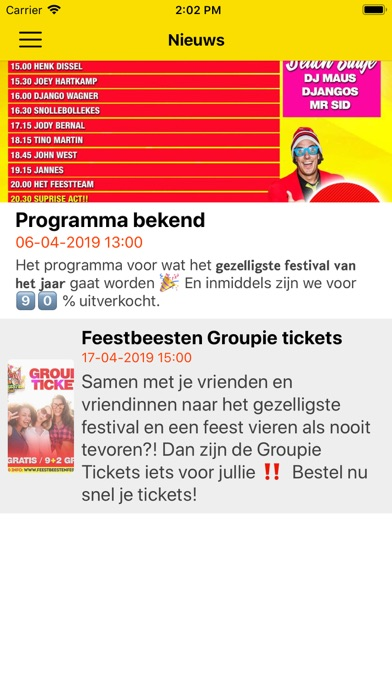 Feestbeesten Festival screenshot #5