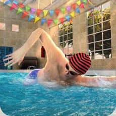 游泳的 池 种族 2020