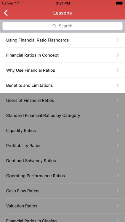 Financial Ratio Flashcards screenshot-3