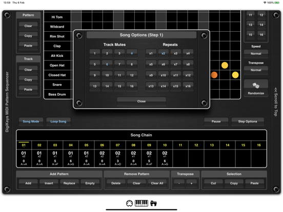 DigiKeys AUv3 Sequencer Plugin screenshot 8