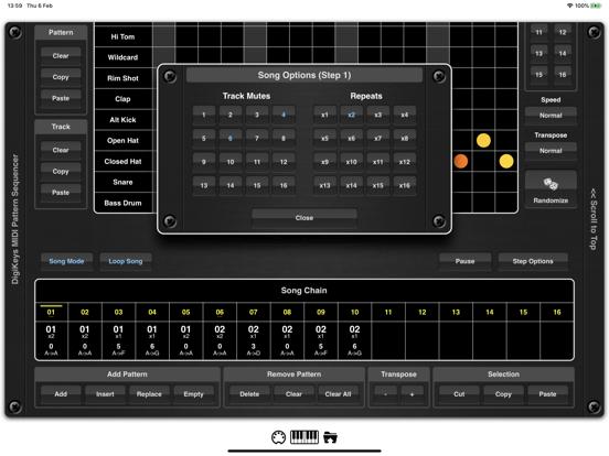 DigiKeys AUv3 Sequencer Plugin screenshot 8