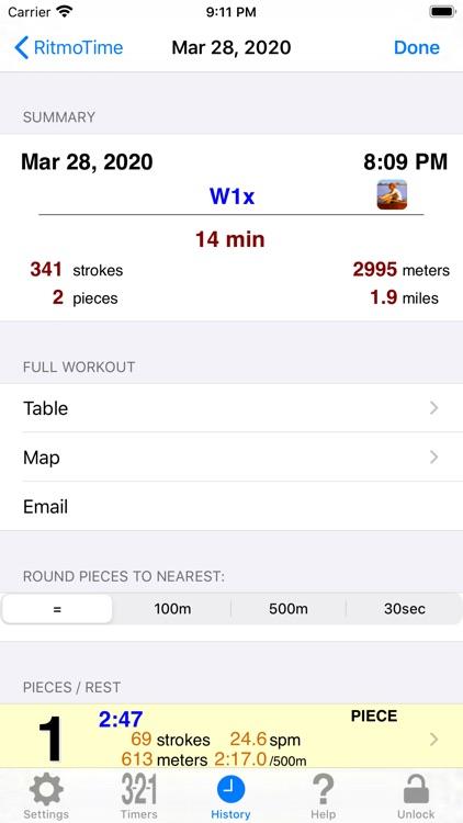 RitmoTime Stroke Monitor screenshot-3