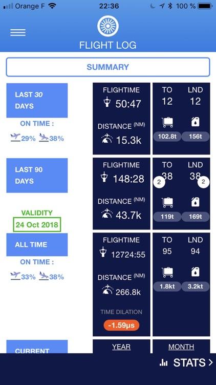 FlightLog App screenshot-4